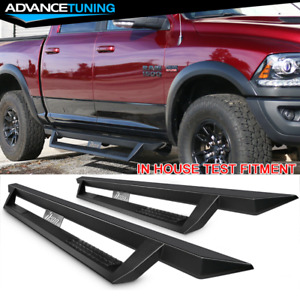 Fits 09 18 Dodge Ram 1500 10 18 2500 3500 Quad Cab Side Step Bar Running Boards