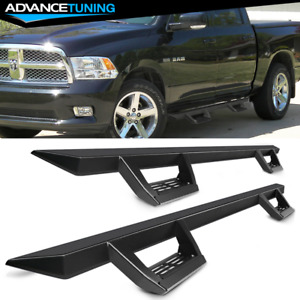 Fits 09 18 Dodge Ram 1500 10 18 2500 3500 Crew Cab Side Step Bar Running Boards