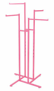 Hot Pink 4 Way Rack With Straight Arms