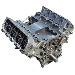 6 4l Ford Powerstroke Long Block Engine 2008 2010