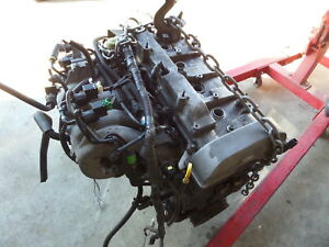 03 Mazdaspeed Protege Turbo Msp Engine Fs Det Long Block 131k Burns Oil Mazda