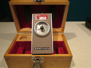 Chatillon Tg 80 Mrp Torque Gauge W Box