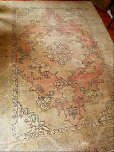 Hand Knotted 100 Wool Persian Area Rug 9 3 6 7
