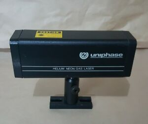 Uniphase Novette Helium Neon Gas Laser Model 1508 0