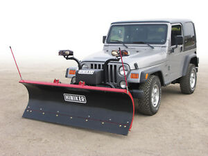 Jeep Small Truck Suv 7 Snow Plow Hiniker Conventional 2 Year Warranty