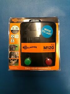 Gallagher North America M120 110v Fence Energizer 1 2 Joules G330434