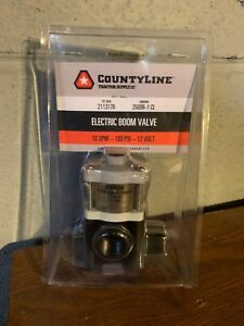 Countyline Electric Boom Valve 10gpm 100 Psi 12v New free Shipping