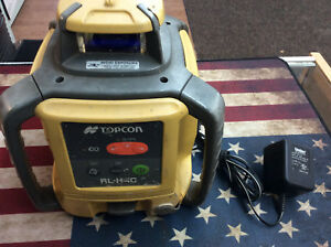 Topcon Rl h4c Self leveling Rotary Laser W charger