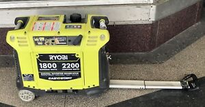 Ryobi ryi2200 2 200 watt Green Gasoline Powered Digital Inverter Generator