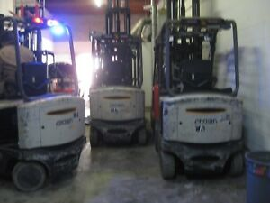 Raymond Electric Forklift 5000 Cap Fork Positioner Side Shift Attachment