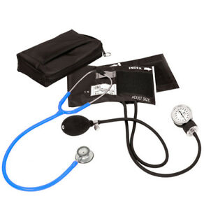 Prestige Medical Clinical Lite Combination Stethoscope Kit neon Blue New