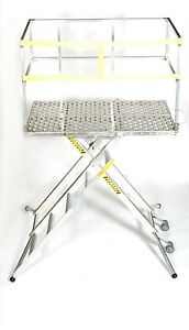 X deck Portable Stage 5 Step 36 Work Platform Ladder 4 000 Lbs Capacity