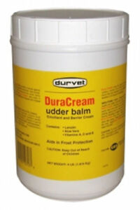 Duracream Udder Balm 4 Lbs Dairy Soreness Chapping Cattle Cows Teats Non greasy