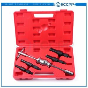 5pcs Inner Blind Bearing Puller Set Internal Slide Hammer Tool Remover