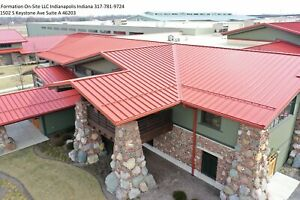 Brand New 26 24 Or 22 Gage Standing Seam Metal Roofing Panels