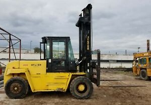 Hyster 28 000lb H280xl 2 stage Perkins Diesel Pneumatic Tires