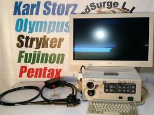 Pentax Epk 700 And Ec 3830lk Tower Colonoscope Gastroscope Processor Olympus