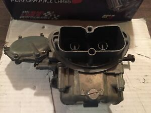 67 69 Corvette 3659 Holley Tri Power End Carburetor 427 435hp 400hp Carb Carbs
