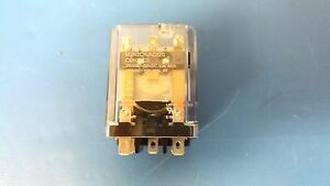 Omron Mjn2ck ac120 Single Coil Latching Relay 9 Pin Dpdt 120v