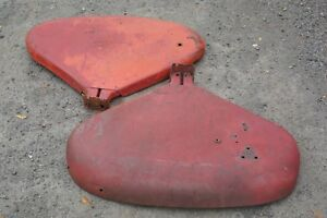 Originalih International Harvester Farmall 460 560 504 Tractor Clamshell Fenders