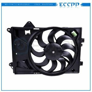 12v Radiator Ac Condenser Electric Cooling Fan Fit For 12 17 Chevy Sonic 1 8l L4