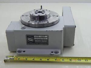 Weiss Tc 150t Rotary Indexer Table 3 Positions T92431