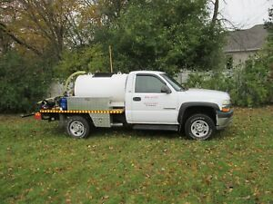 Asphalt Sprayer Tank Sealcoating Truck Equipment Driveways Parking Spray Bar
