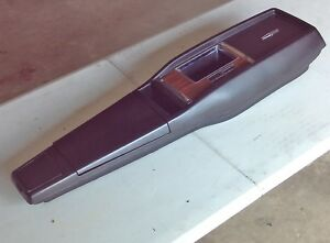 1969 Camaro Z28 Ss 4 speed Console With Extra Wood grain Insert Ash Tray Light