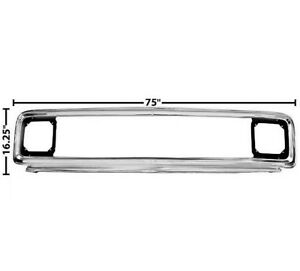 1971 1972 Chevy Pickup Truck Grille Wo Center Bar Triple Chrome Plated Dynacorn