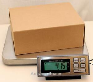 19 Off Refurbished used 200 X 0 05 Lb Shipping Scale 14 X 16 Steel Tray Postal