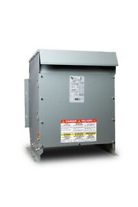 15 Kva 208d Primary 480y 277 Secondary 3 Phase Transformer