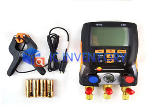1pcs New Testo 550 Refrigerant Digital Manifold Tester For 0563 1550 2 Clamp P