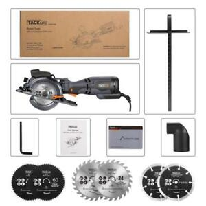 Circular Saw With Metal Handle 4 3 4 5 8a Laser Guide Max Cutting Depth 1 9