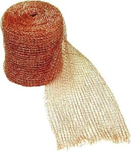 100ft Roll Rodent And Bird Physical Barrier Control Copper Wire Mesh Rust proof