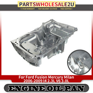 Engine Oil Pan For Ford Fusion Mercury Milan L4 2 3l V6 3 0l Fp57a 6m8g6675ac