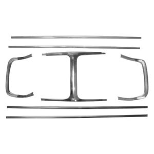 For Dodge Charger 1969 R Grille Molding Set