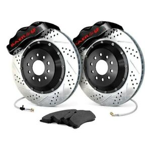 For Ford Mustang 65 68 Baer Pro Plus Drilled Slotted Front Brake System