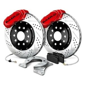 For Ford Mustang 94 04 Baer Ss4 Plus Drilled Slotted Rear Brake System