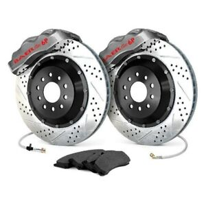For Ford Mustang 94 04 Baer Pro Plus Drilled Slotted Rear Brake System