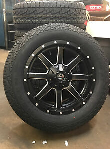 20 Fuel D538 Maverick 33 Nexen At Wheel And Tire Package 6x135 Ford F150
