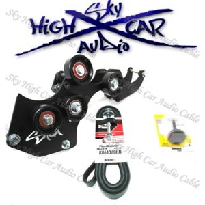 Sky High Car Audio 2000 2013 Gm Quad Alt Bracket 4 8l 5 3l 6 0l 6 2l Gm Chevy