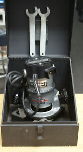 Porter Cable 90690 90th Anniversary Corded Electric Router W Case read