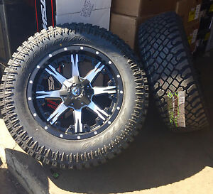 20x9 Fuel D541 Nutz 35 Atturo Xt Wheel And Tire Package 6x5 5 Toyota Tacoma