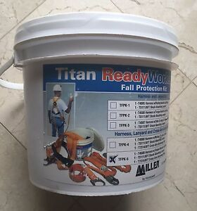 Miller Titan By Honeywell Tfpk 5 Ready Worker Fall Protection Kit 1xer4