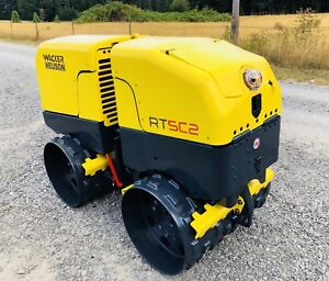 2012 Wacker Rt Sc2 Trench Compactor Vibratory Runs Excellent Roller
