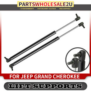 Set Of 2 Liftgate Hatch Lift Supports Shock Struts For Jeep Grand Cherokee 99 04