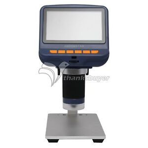 Ad106 Usb Digital Microscope 4 3 Inch Hd Display Tht Smd Tool Soldering Tool