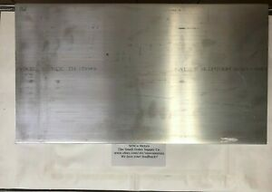 3 8 X 10 Aluminum Flat Bar Plate 18 Long 6061 T6511 375