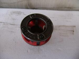 Ridgid Pipe Threader Die 1 1 2 2