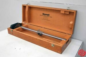 Starrett 254emz Master Vernier 24 Height Gage With Case